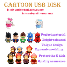 New arrived 3d cartoon 4G USB flash disk, large capacity, vivid image