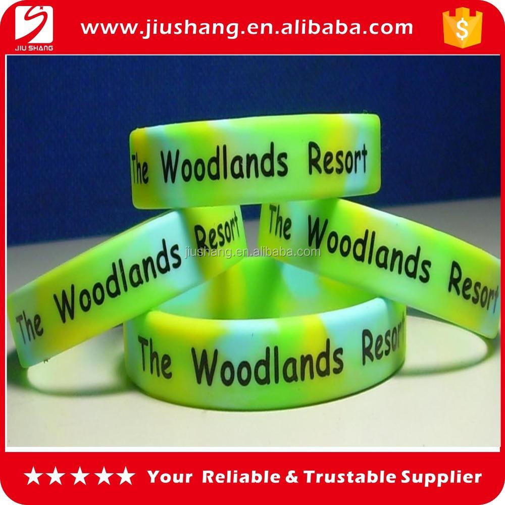 No Minimum Free Shipping Custom Silicone Wristband Wristbands