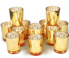 Gold Votive Candle Holders