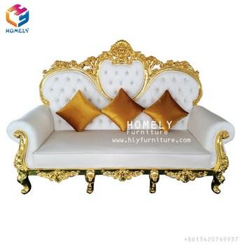 Ordinaire Wholesale European Furniture Cheap Price Good Quality Luxury Wedding Sofa