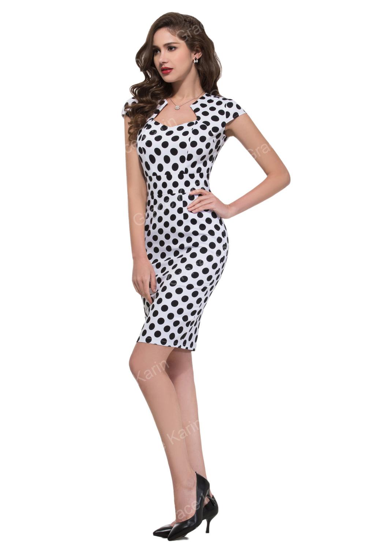 Cl007597 Buy Vestido S Cortos Vestido Grace Karin Vintage 1960 Lápiz 1950 Estilo vestidos Retro Swing 1 estilo KTl1J3cu5F