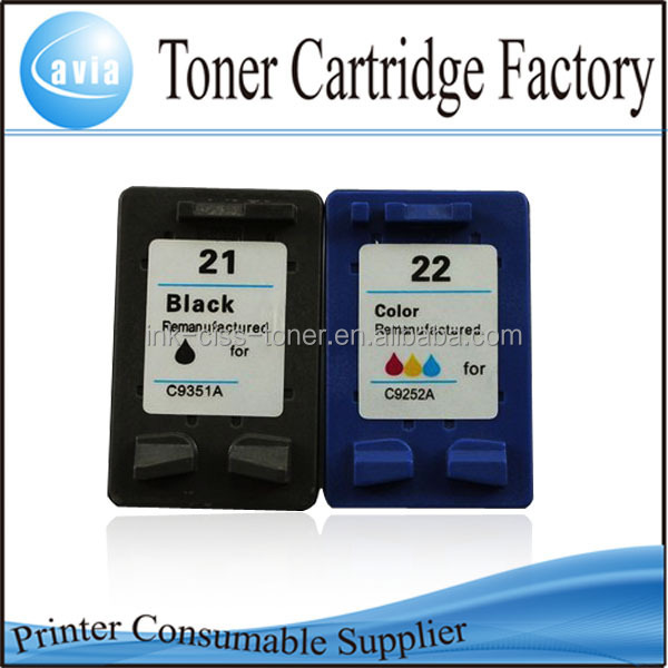 dubai wholesale market refillable cartridges for hp21