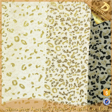Shaoxing Import Fancy Lace Silver Glitter Fashion Mesh Sequins Fabric