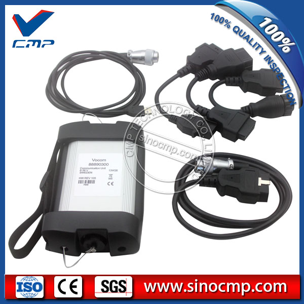 AT Volvo vocom diagnostic tool volvo programming 88890300