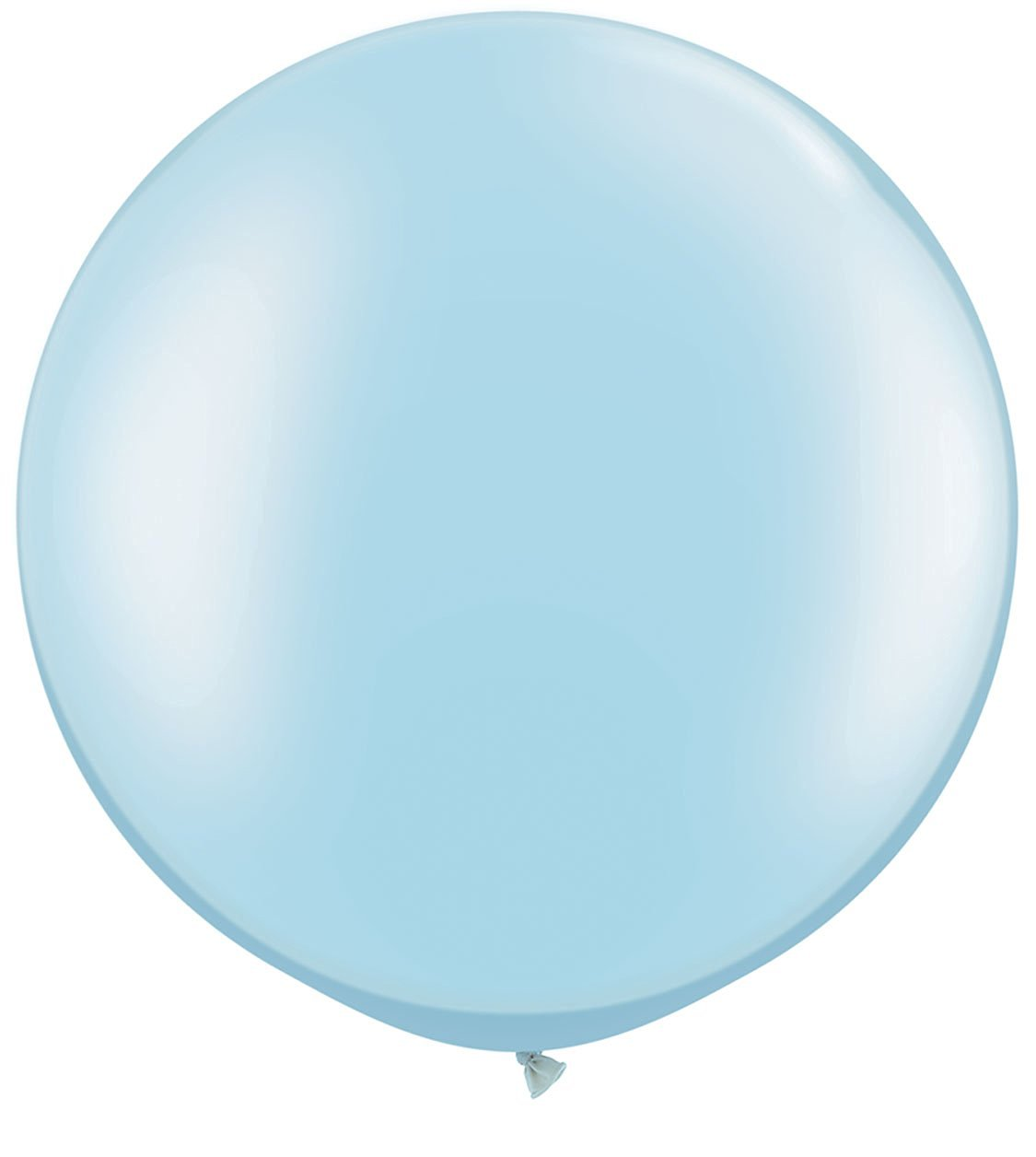 "Pearl Light Blue 30"" Giant Qualatex Latex Balloons x 2"