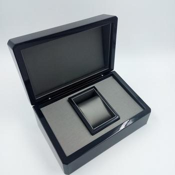 Single Watch Box 1 Extra Large Wood Black Finish Product On Alibaba