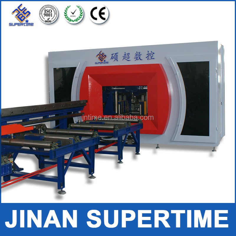 Steel Beam CNC machine /beam drilling and sawing lines