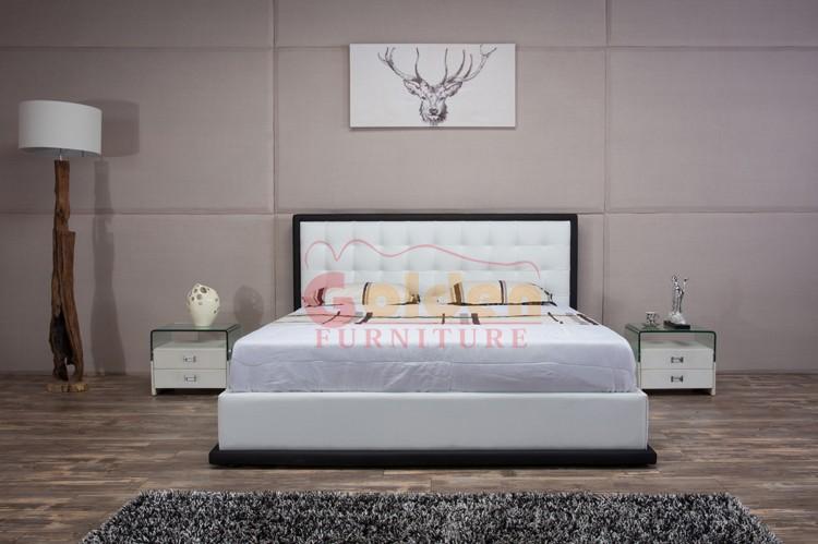 Italia Ashley Muebles Juegos De Dormitorio Cama De Cuero Moderno ...