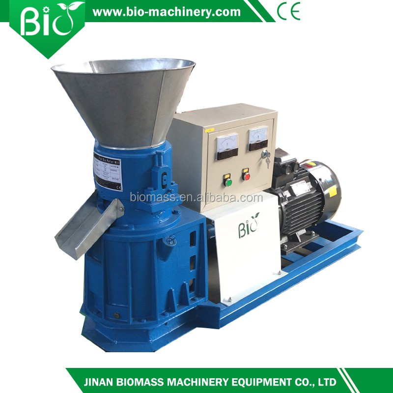 Factory price rice husk flat die pellet mill