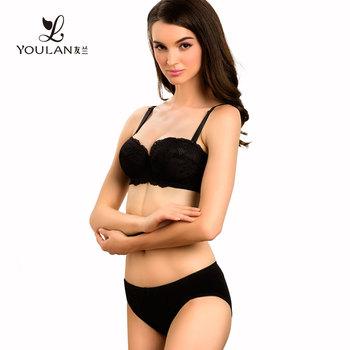 b212cfa2c004 Magic Charming Feeling Curve Bra Set Women Transparent Inner Wear ...