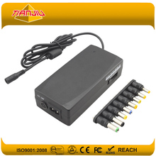 90W Switching Power Adapter For Car and Home Use