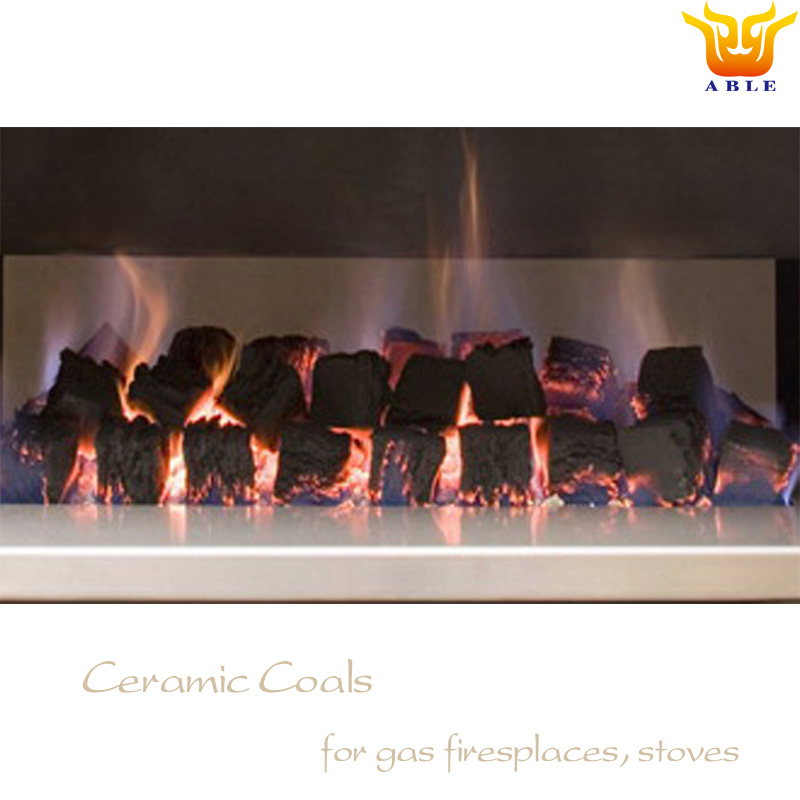 Ceramic coal replacement gas logs Coal effect for Gas Stoves