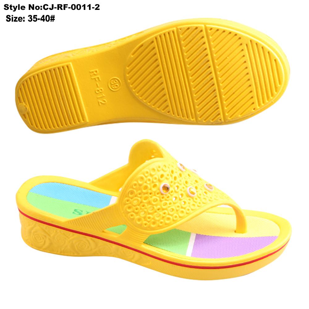 8049f06b75e8 Flip flops style Women cheap wholesale high heel wedge ladies flip flops  women slipper