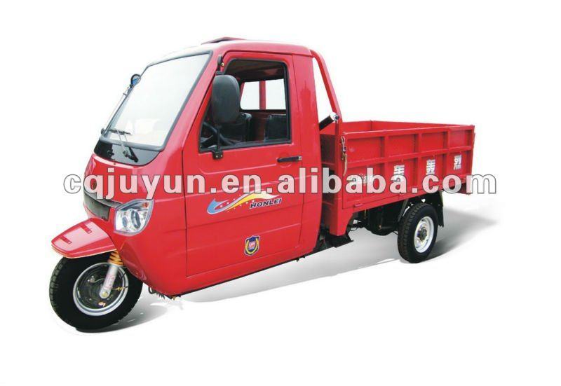Three Wheel Motorcycle with Cabin/Heavy Loading tricycle made in china HL250ZH-B1