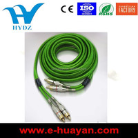 17ft High quality HIFI car AUDIO and VIDEO cable