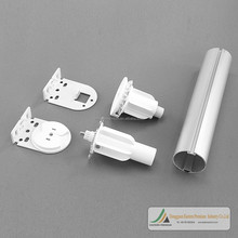 Factory supply alumium 38mm tube window blind roller mechanisms and clear plastic roller blind