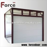 High quality of remote control side opening garage doors