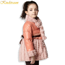 Kindstraum 2016 New Children s Down Jacket for Girls Winter Coat High Quality Brand Warm Winter