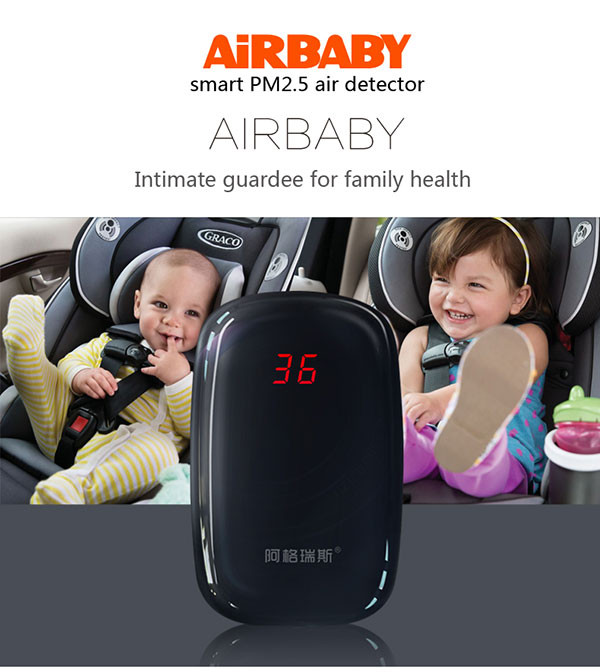 New product Small Air Gas Analyzer PM2.5 Air Monitor