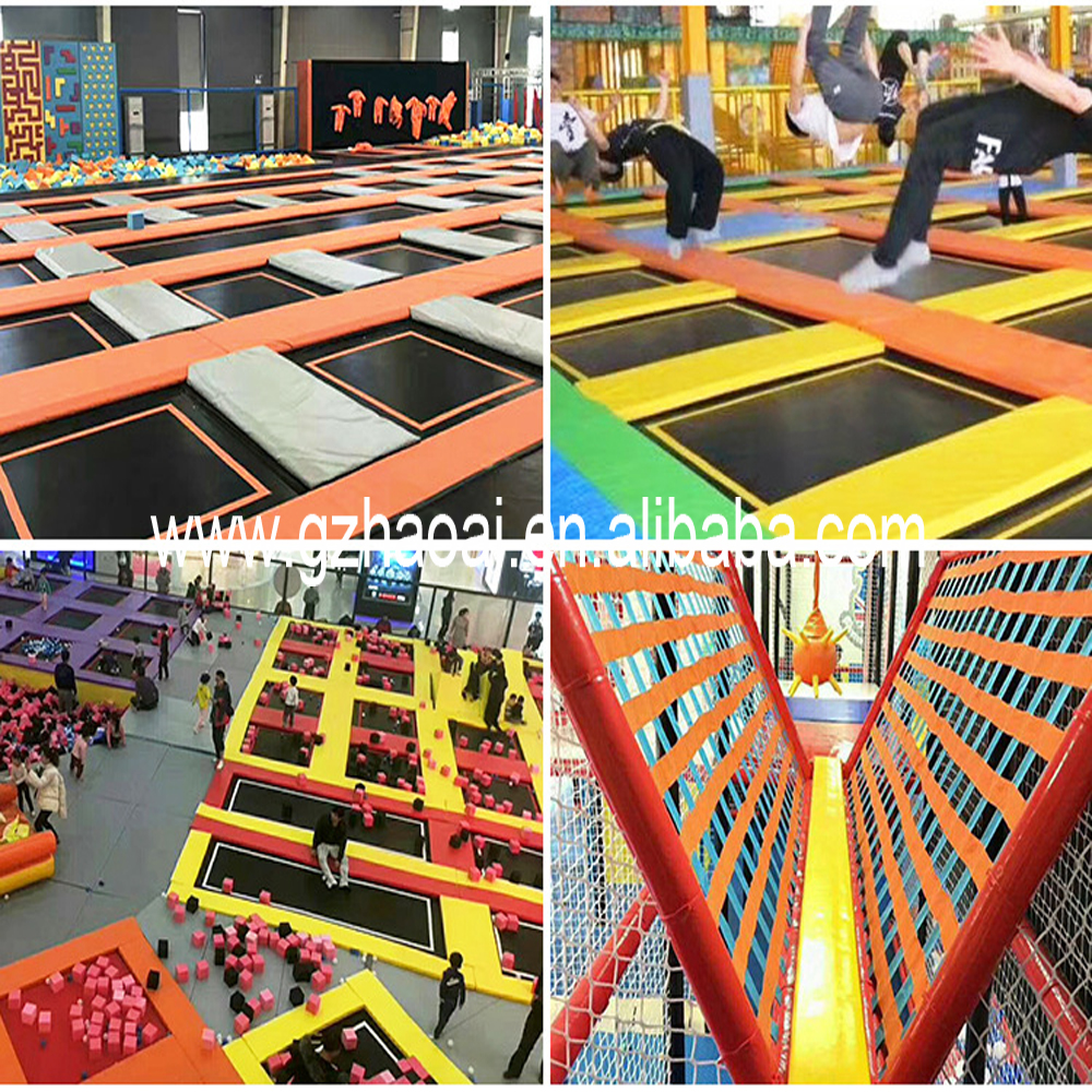 A-15244 Excellent Quality Customized children Indoor big square toddler trampoline for sale