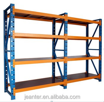 Multifuction Heavy Duty Foldable Steel Metal Shelf Warehouse Factory Storage  Racks