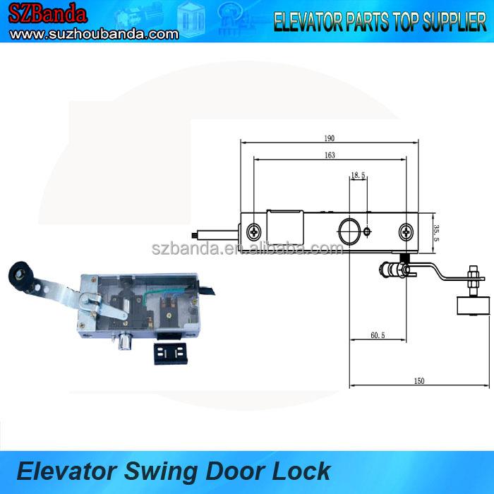 Elevator Door Parts Door Lock For Swing Door