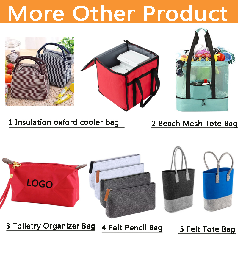 Waxed Canvas Zero Degree Inner Cool Insulated Kid Lunch Cooler Bag Custom