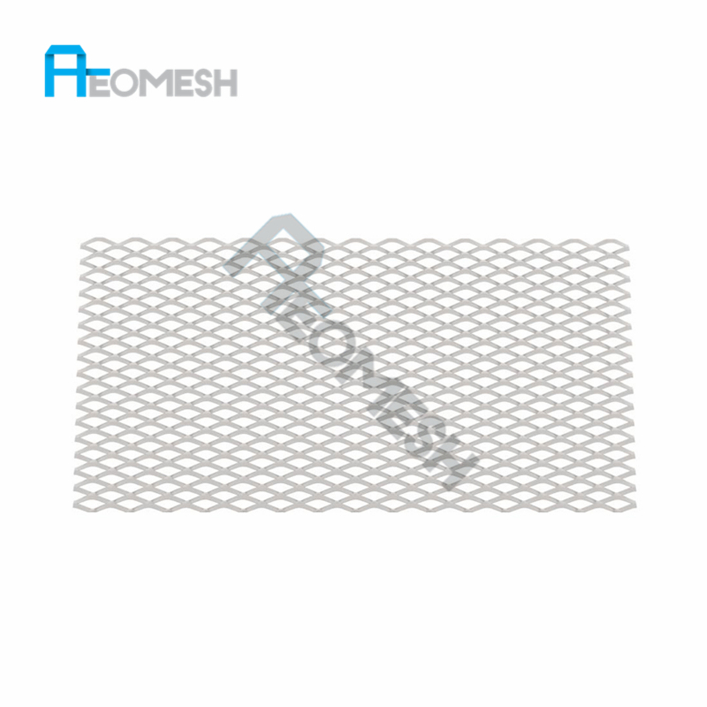 Decorative Aluminium Expanded Metal Screen Diamond Mesh