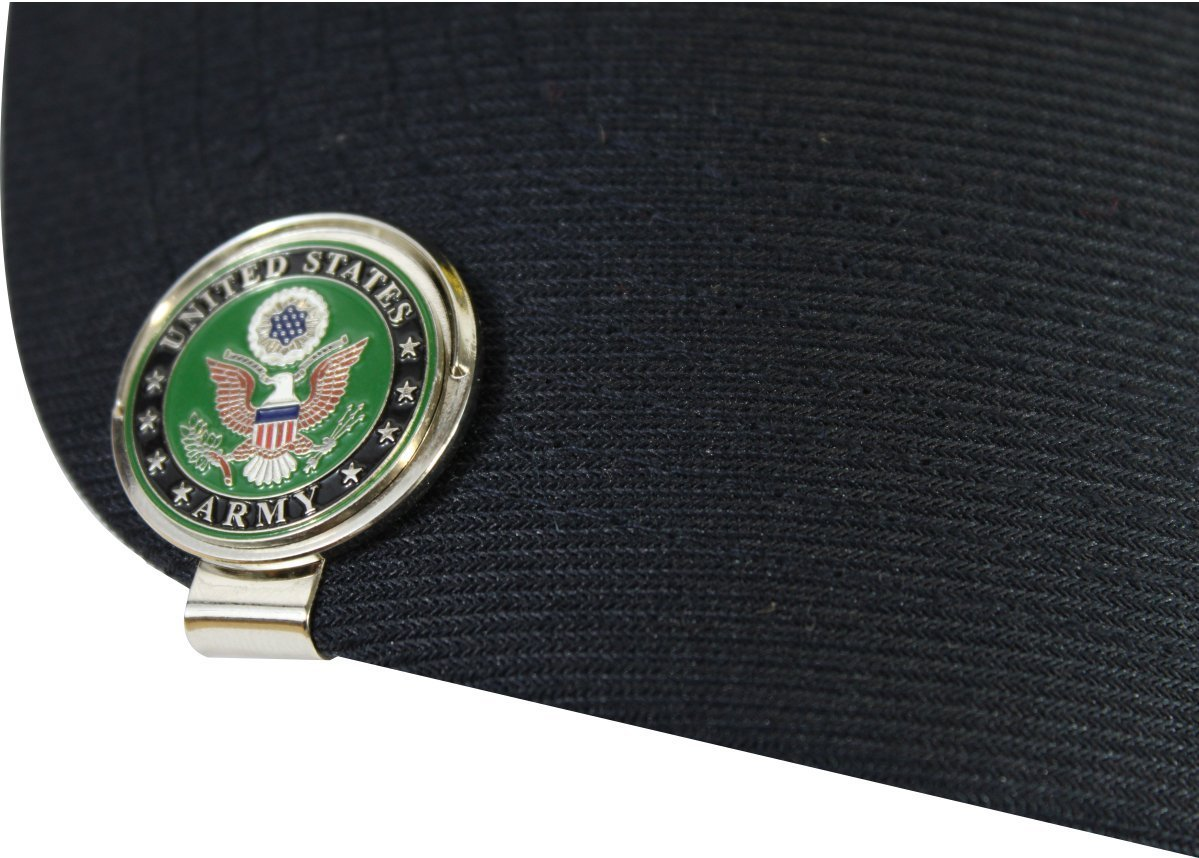 321912fbd2d Get Quotations · MilitaryBest US Army Cap Clip and Golf Ball Marker