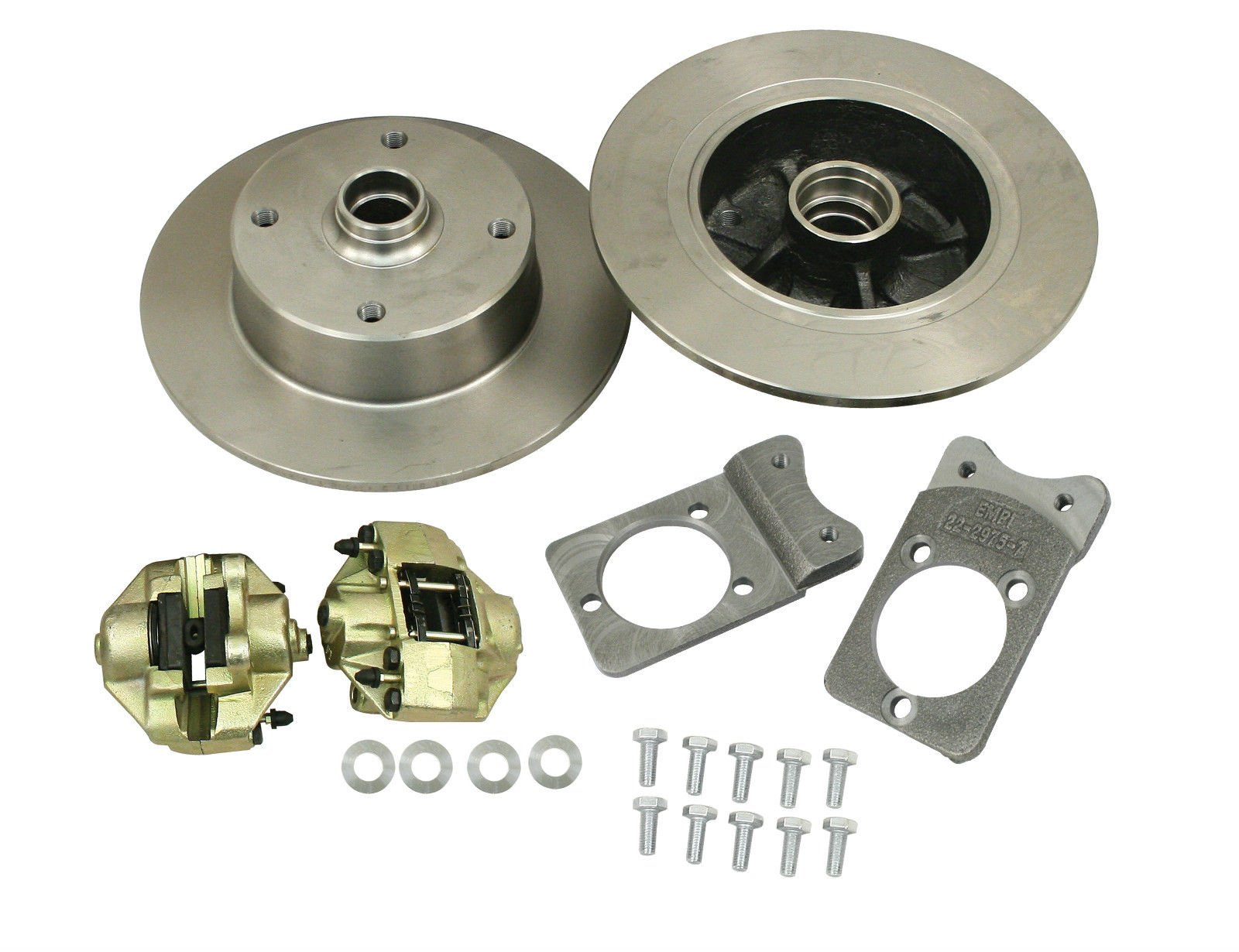 5//205 68-72 Baja Buggy Empi Wide Rear Disc Brake Kit W//O E-Brake S//Axle 1968 I.R.S Compatible with Off Road