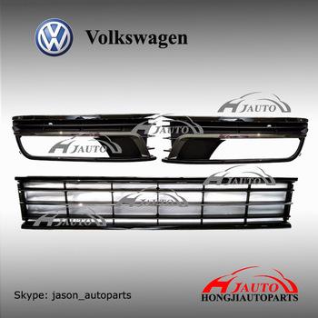 front bumper lower grille for vw volkswagen passat 3c b7. Black Bedroom Furniture Sets. Home Design Ideas