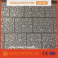 Aluminum zinc coated steel panel exterior wall panel