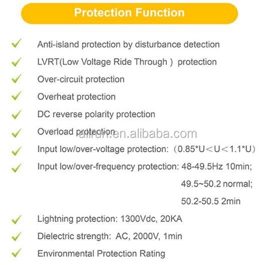 Micro Inverter 600w Cheap Price Solar Grid Tied Inverter