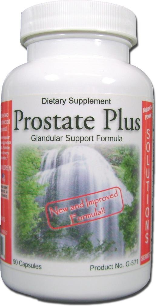 Prostate Plus, Natural Prostate Support Supplement, Advanced Therapeutic Dose, for Enlarged Prostate with Yohimbe Extract, Saw Palmetto, Stinging Nettle, and Homeopathic Cell Salts 90ct