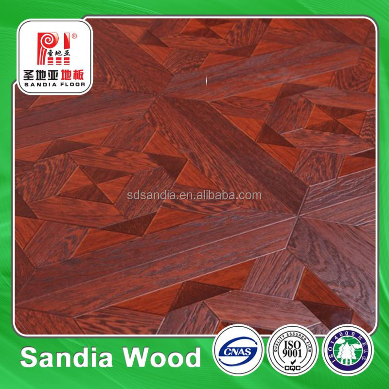 Solid Uni-Click Engineered Timber Industrial Laminated Flooring