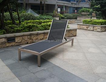 Ligstoel Tuin Aluminium : Tuinmeubilair aluminium chaise lounge textileen tuin ligstoel
