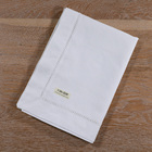 TC002: Table Linen white handmade drawn thread work embroidery table cloth