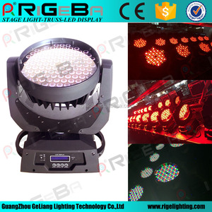 36*10w RGBW 4IN1 Zoom LED moving head wash stage light