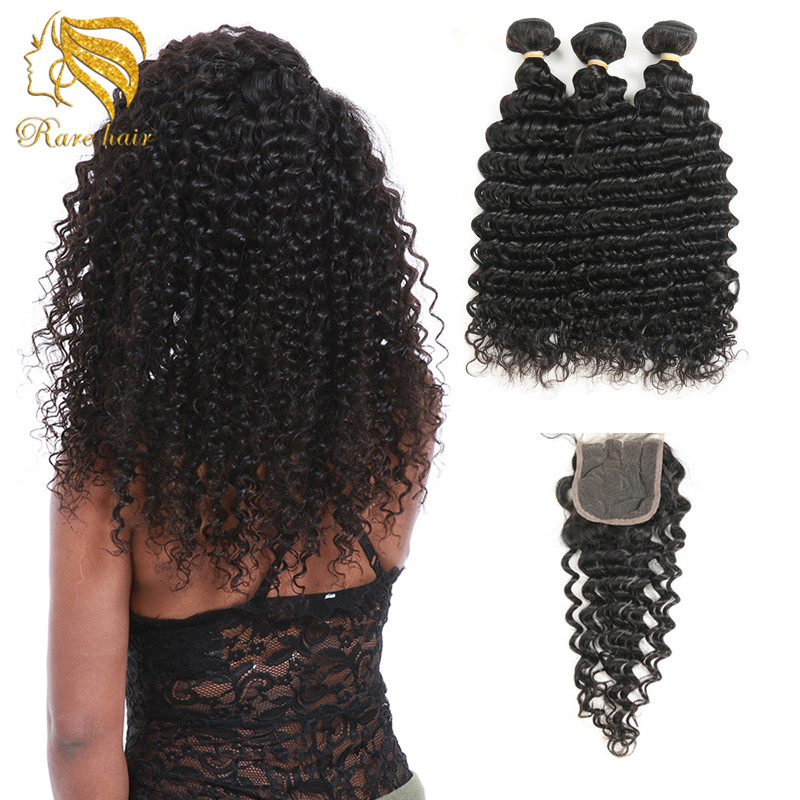 Extension Hair With Rubber Band Salon Supply 30 Inch Cambodian Deep