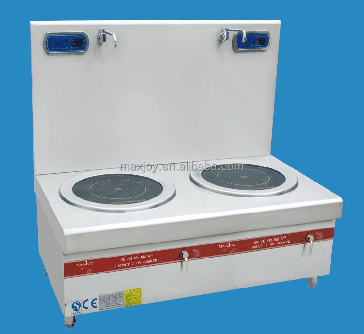 24KW INDUCTION STOVE WITH FLAT & DOUBLE BURNERS FOR HOTEL/RESTAURANT USE