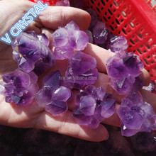 Hot Sale Purple Amethyst Mat Raw Natural Amethyst Quartz Nugget Beads