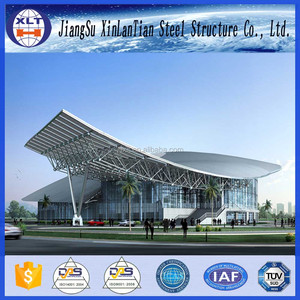 Space Frame Designed Prefabricated Hall