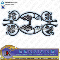 decoration components from Chinese manufacturer wrought iron Rosette