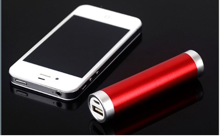 Best selling and high power bank 2600mah with metal shell