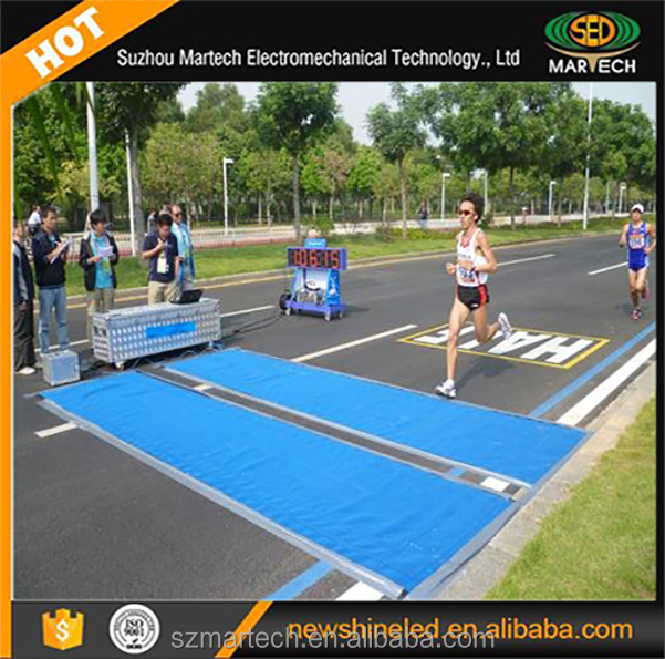 UHF RFID Sports Timing System for measure triathlon race (swimming,biking,running)
