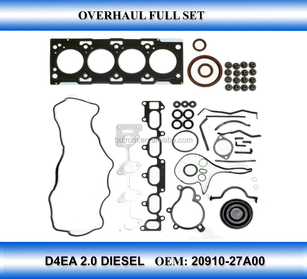 Car engine parts for D4EA full gasket kit OEM 20910 - 27A00