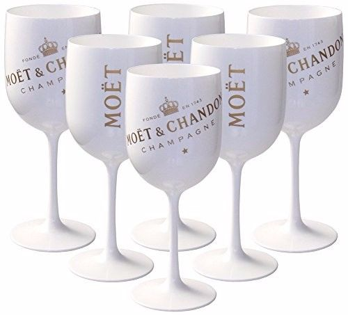 Acrylic Moet Chandon Champagne <strong>Glass</strong>