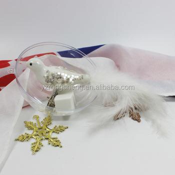 Hand Blown Glass Bird Christmas Tree Ornaments - Buy Christmas ...