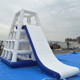 Commercial Inflatable Water Floating Slide,Inflatable Aqua Slide ,inflatable water park slide F8012