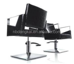 styling chair with footrest / white salon styling chairs